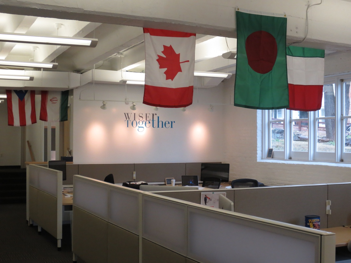 a picture of WiserTogether's office in Georgetown, Washington, DC
