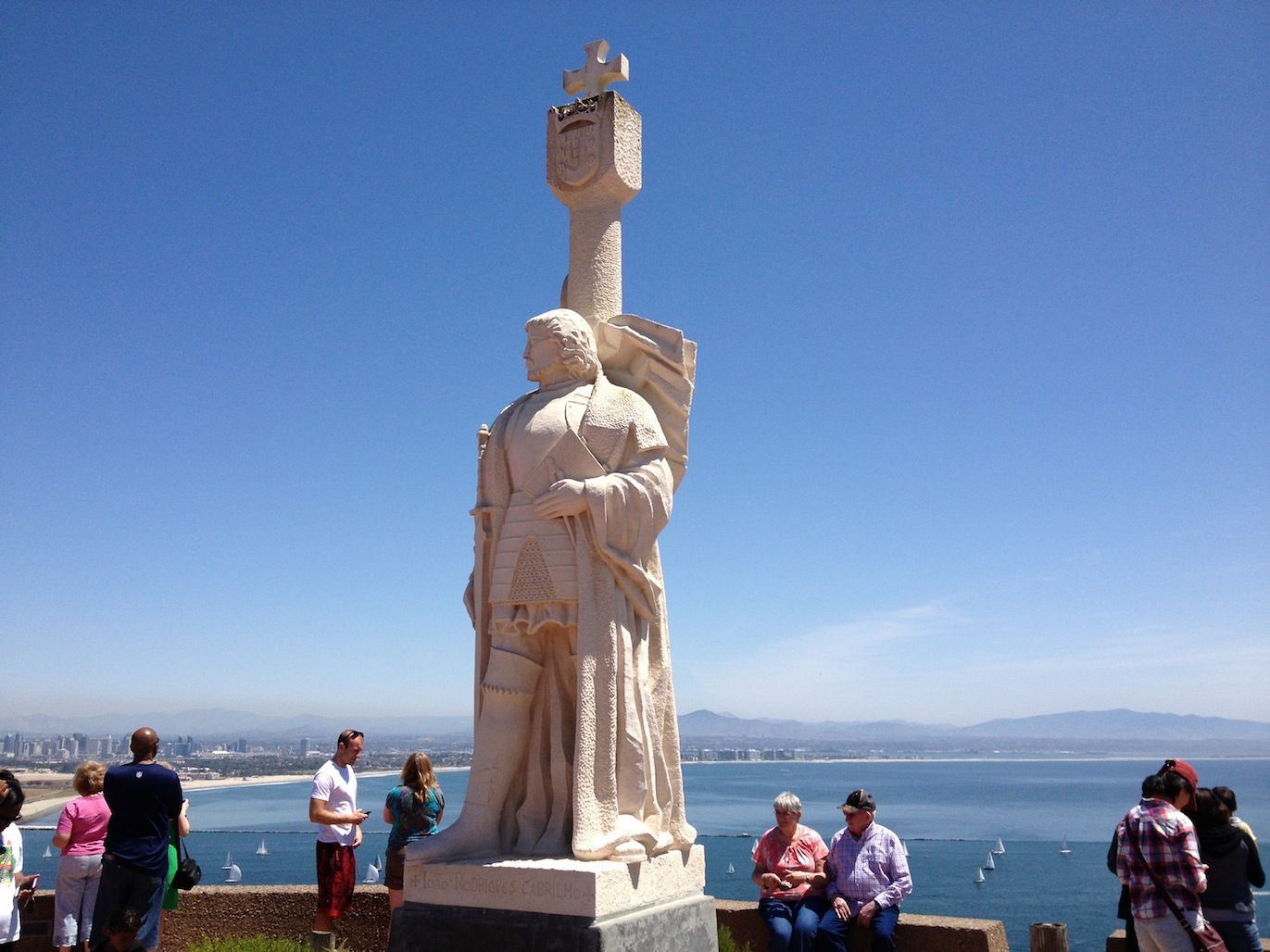 Statue at Point Loma