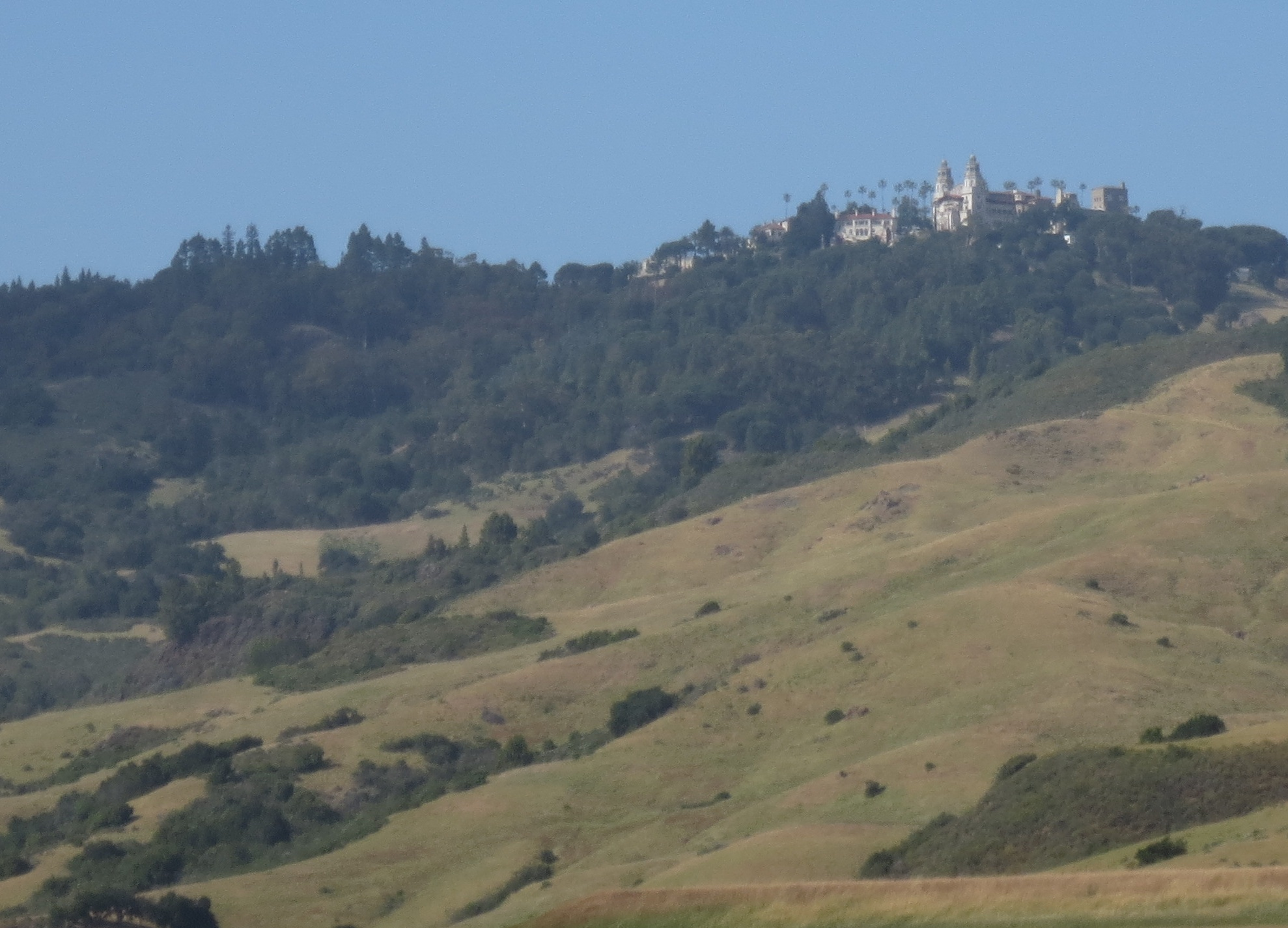 Hearst Castle just off the Pacific Coast Highway