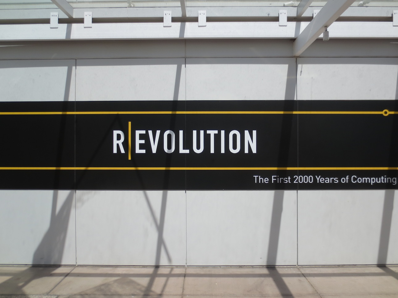 Revolution. The current theme for the Computer History Museum.