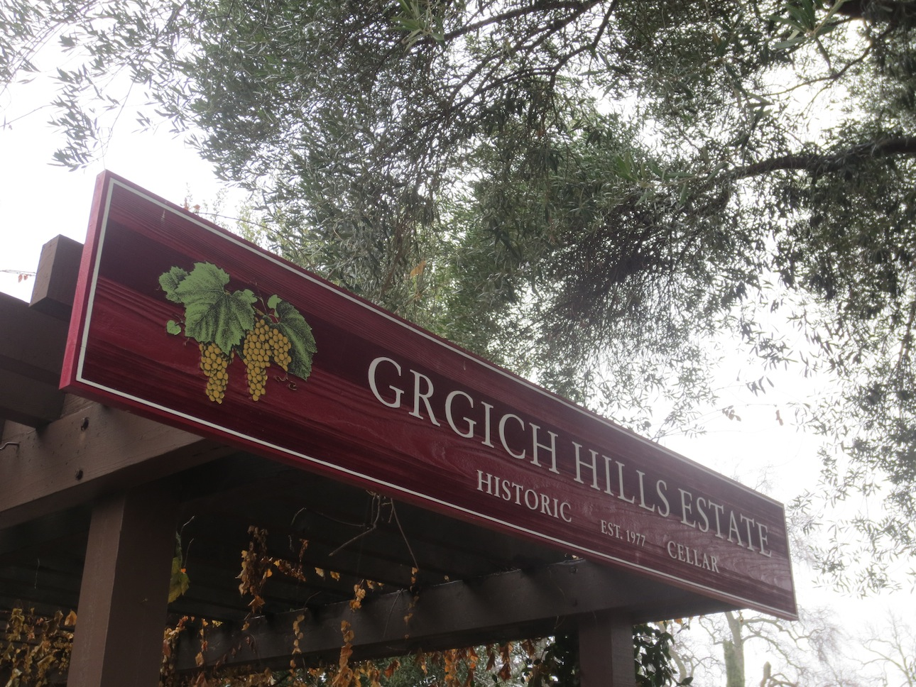 Grgich Hills Winery off Route 29